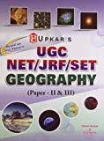 UGC NETJRFSET Geography - Paper II  III by Ritesh Kumar