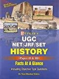 UGC NETJRFSET History Paper II  III Facts at a Glance by Mani Bhushan Mishra
