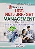 UGC NETJRFSET Management Paper-III by Editorial Board