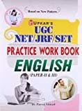 UGC-NETJRFSET Practice Work Book English Paper II  III by Parvej Ahmad