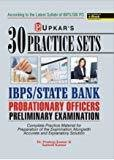 Upkars 30 Practice Sets IBPSState Bank PO - Pre Exam- English Version