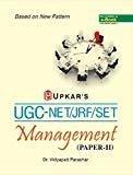 UGC-NETJRFSET Management - Paper II by Vidyapati Parashar