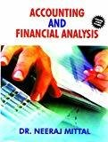 Accounting  Financial Analysis by Neeraj Mittal