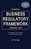 Business Regulatory Framework Third Edition