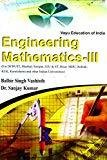 Engineering Mathematics-Iii by B. S. Vashisth