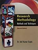 Research Methodology by Gupta A K