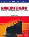 Marketing Strategy Planning Implementation and Control by Subhash C. Jain