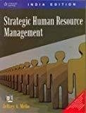 Strategic Human Resource Management by Jeffrey A. Mello - Towson University