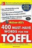 400 Must - have Words for the Toefl by Lynn Stafford-Yilmaz