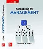 Accounting for Management by K. Dhanesh Khatri