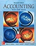 Accounting Texts and Cases by Robert Anthony
