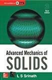 Advanced Mechanics of Solids by L Srinath