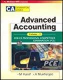 Advanced Accounting Vol IFor Ca Professional Competence Examination by Mohamed Hanif