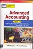 Advanced Accounting VOL IIFor CA Professional Competence Examination by Mohamed Hanif