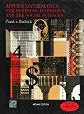 Applied Mathematics for Business Economics and the Social Sciences by Frank Budnick