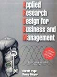 Applied Research Design for Business by Caroline Page