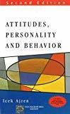 Attitudes Personality and Behaviour by Icek Ajzen