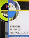 Business Research Methodology with CD by T N Srivastava