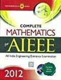 COMPLETE MATHEMATICS for AIEEE 2012 by Tmh