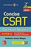 Concise Csat by Madhukar Bhagat