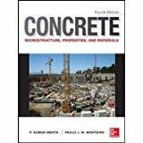 Concrete Microstructure Properties and Materials by P. Kumar Mehta