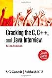 Cracking the C C and Java Interview by S.G. Ganesh