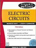 Electric Circuits Schaums Outline Series by M Nahvi