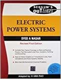 Electric Power Sys Sie - Sos by Syed Nasar