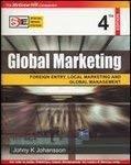 Global Marketing 4E Sie by Johny Johansson
