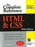 HTML  CSS The Complete Reference Fifth Edition by Thomas Powell