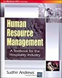 HRM  TEXTBOOK FOR THE HOSPITALITY INDUSTRY by Sudhir Andrews