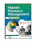 Human Resource Management                        Paperback K. Aswathappa | Pustakkosh.com