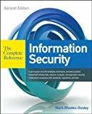 Information Security The Complete Reference by Mark Rhodes-Ousley