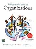 Interpersonal Skills in Organizations by Suzanne De Janasz