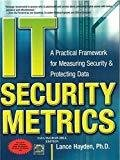 IT Security Metrics A Practical Framework for Measuring Security  Protecting Data by Lance Hayden