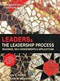 Leaders and the Leadership Process Readings Self-Assessments  Applications by Jon Pierce