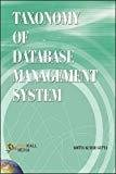 Taxonomy of Database Management System by Aditya Kumar Gupta