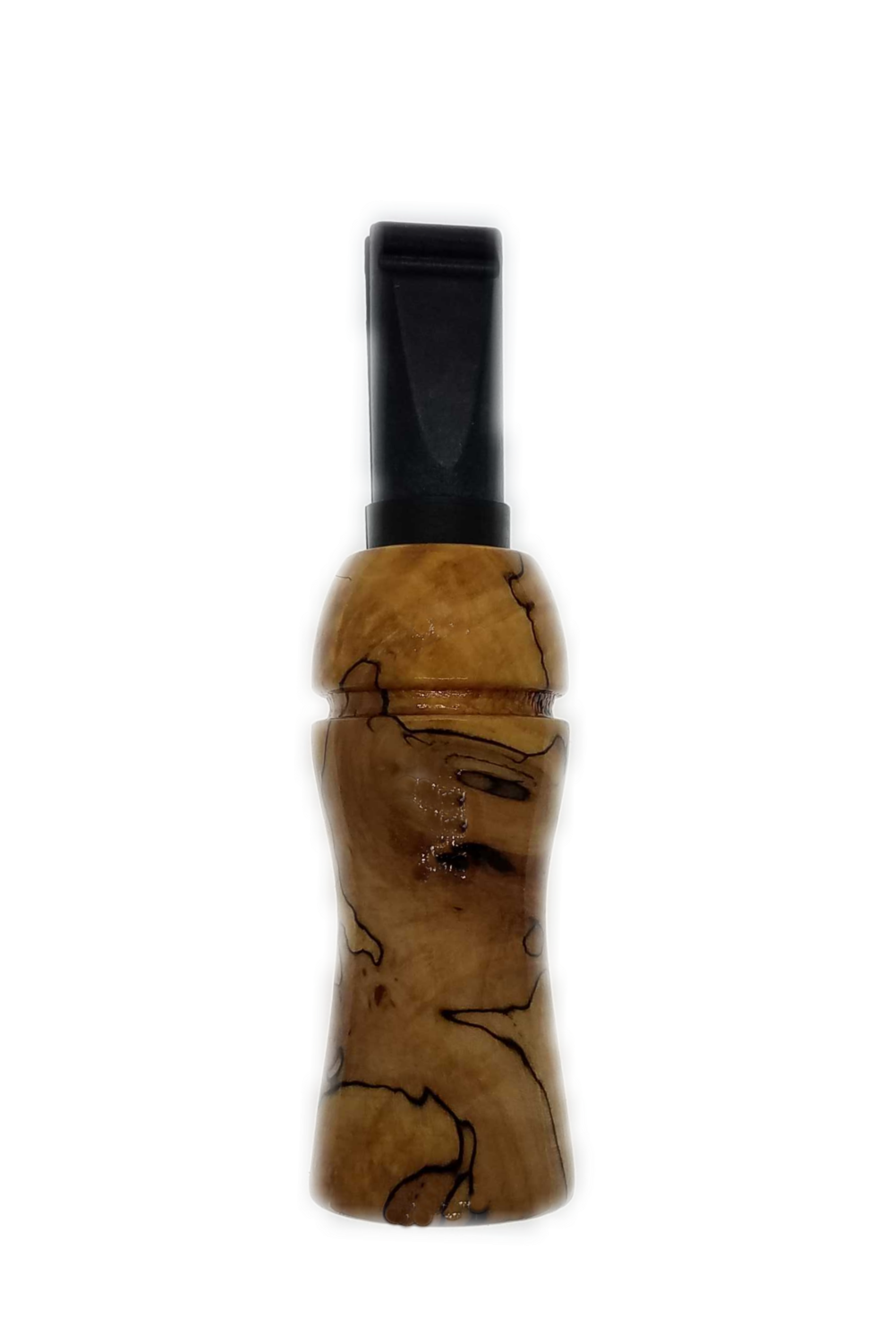 Crow Call Hand-turned Spalted Maple #2