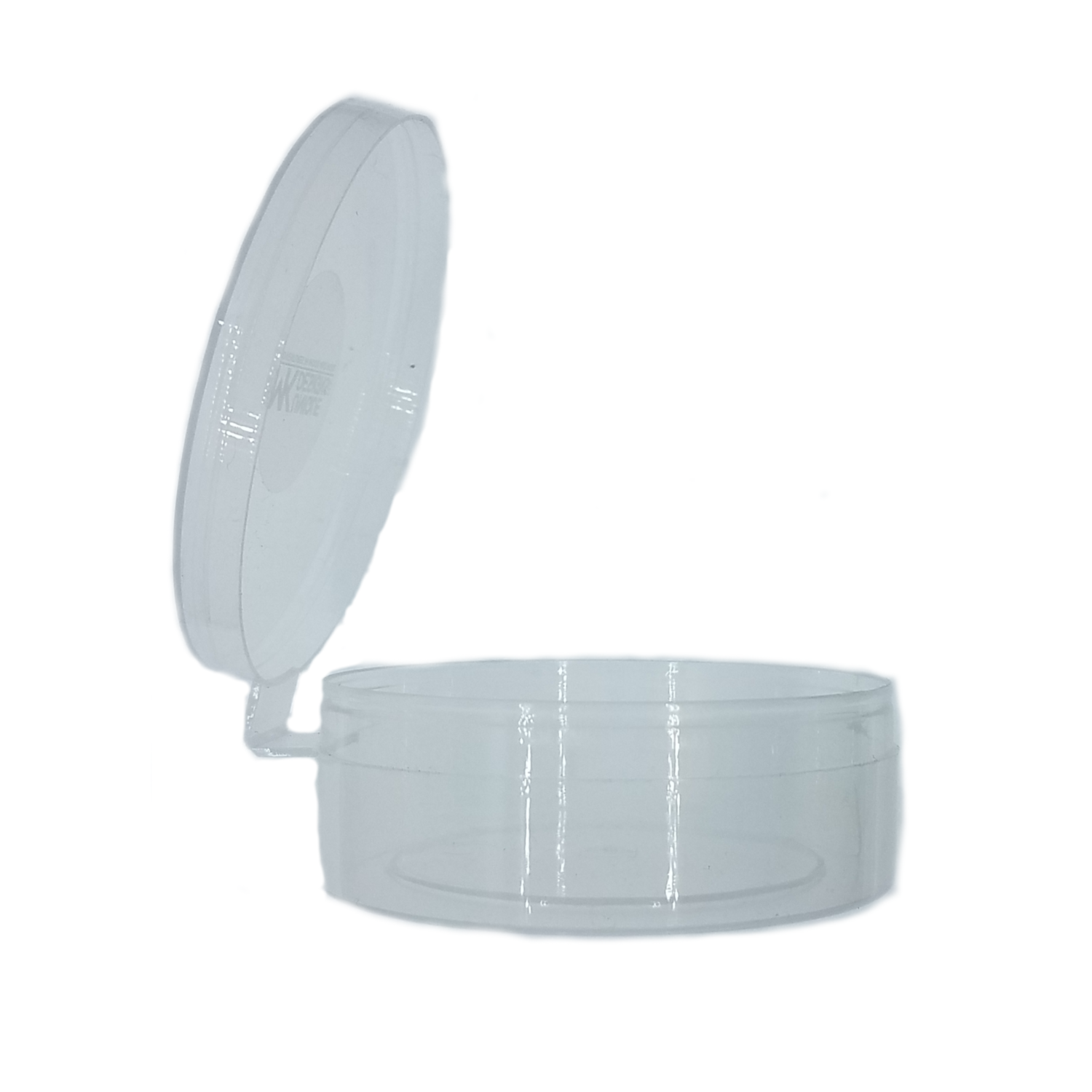 See Through Mouth Call Hinged Lid Case - 25 Pack