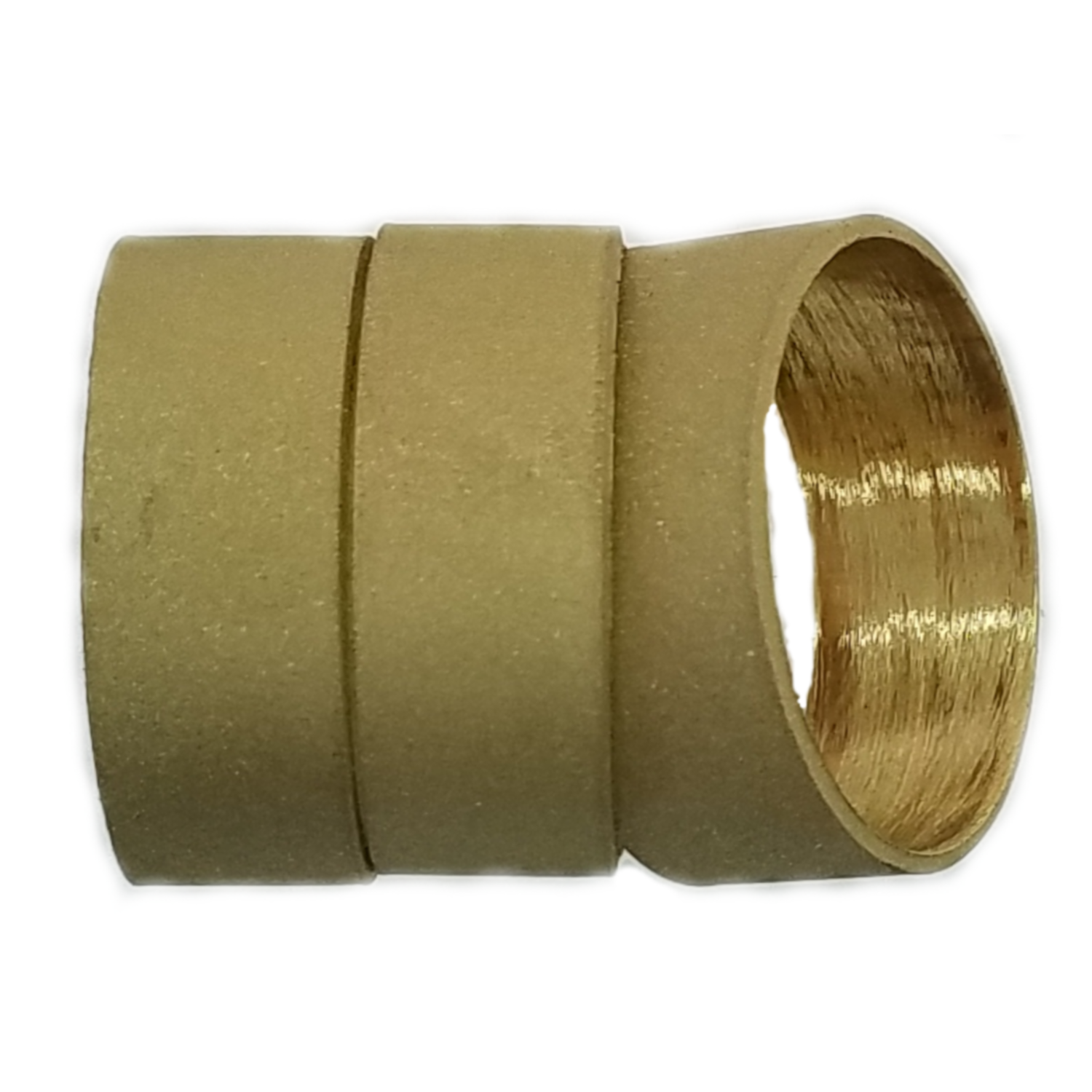 Frosted Brass Hunting and Game Call Band 3 Pack