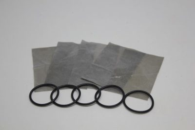 Turkey Tube Replacement Reeds .006 Gray Reeds & O-Rings (5 Pack)