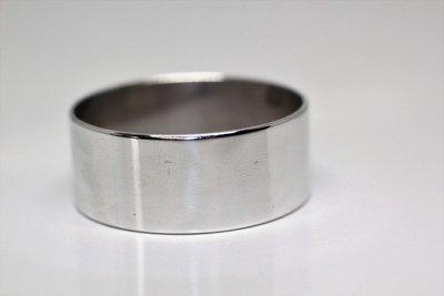 Polished Aluminum Band