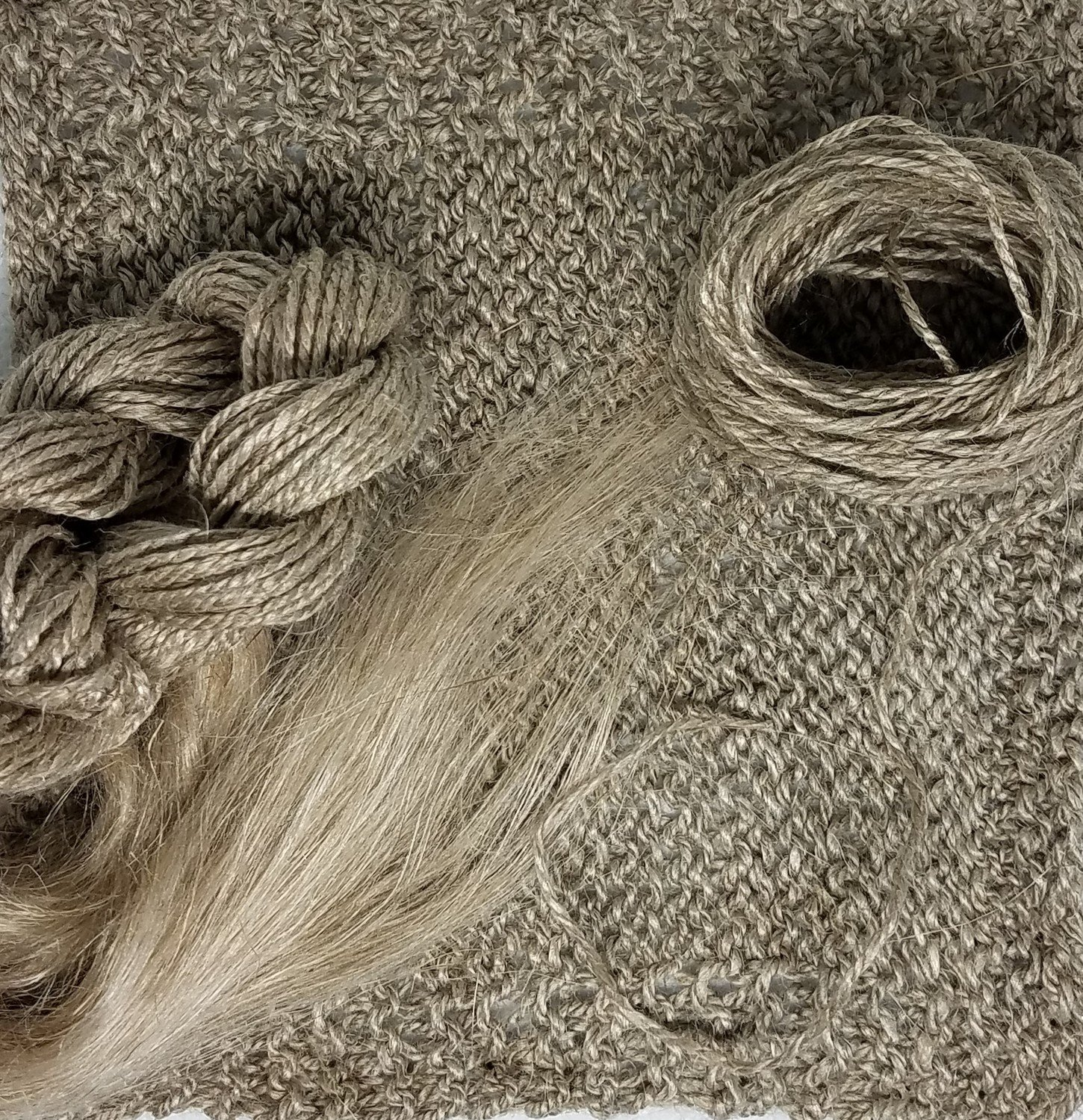 Natural Flax Spinning Fiber
