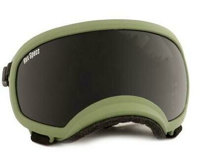 Medium Rex Specs Dog Goggle (Army Green Frame)
