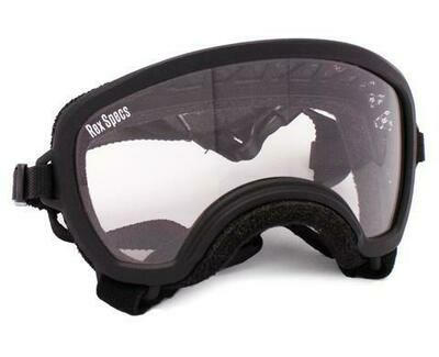 Small WIDE Rex Specs Dog Goggle (Black Frame)