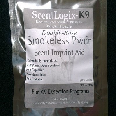 ScentLogix Explosives K9 Scent Imprinting Aids -- Smokeless Powder (Double Base)