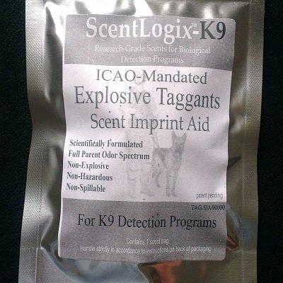 ScentLogix Explosives K9 Scent Imprinting Aids -- ICAO-Mandated Taggants