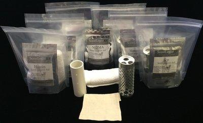 Scentlogix - Any 6 Single-Aid K9 Narcotics Scents Bundled KIT Set