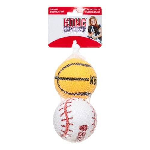 Kong Sport Balls, Large, 2-pack (Assorted)