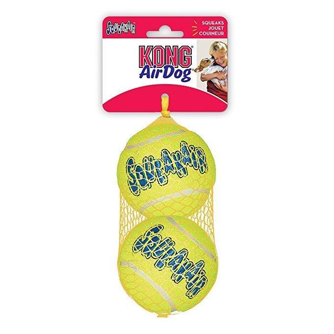 Kong AirDog SqueakAir Balls, Large, 2-pack